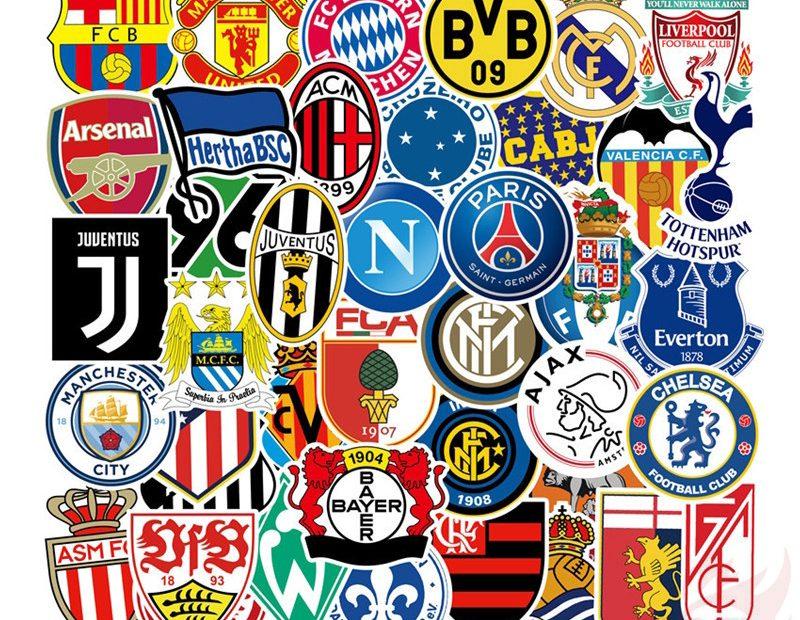 Snygga fotbollslogor